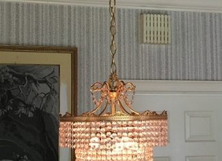 Chandelier Rose Gold