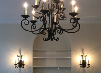 Chandelier & Sconces