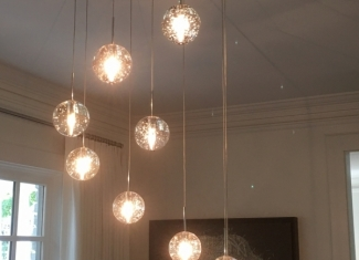 Cascading Pendant Light