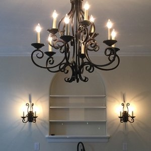 Chandlier-Sconces