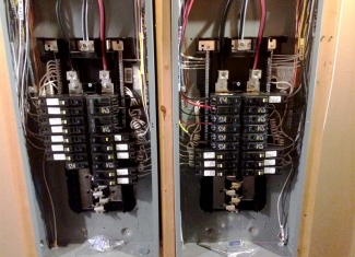 Two 150 AMP Panels