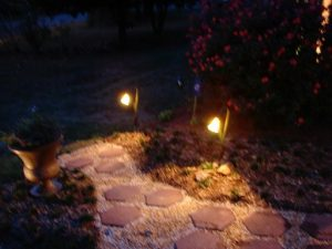 landscape lighting, outdoor lights