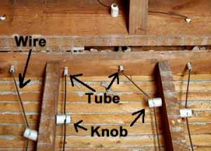 knob-and-tube wiring, history of wiring