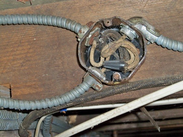 history of wiring mccauley electric rh mccelec com Old BX Wiring bx cable house wiring